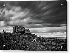 Bamburgh Castle Acrylic Print by John Farnan