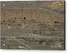 Bamiyan's Empty Alcoves Acrylic Print by Tim Grams