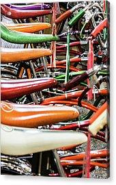 Banana Bikes Acrylic Print