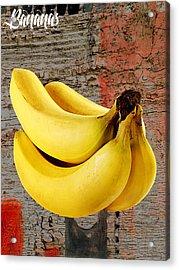 Banana Collection Acrylic Print by Marvin Blaine