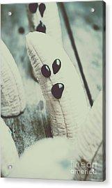Banana Halloween Ghosts Acrylic Print