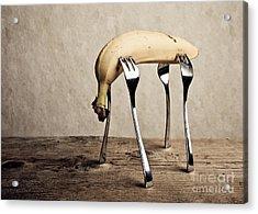 Banana Acrylic Print by Nailia Schwarz