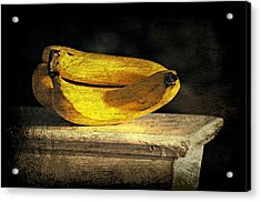 Acrylic Print featuring the photograph Bananas Pedestal by Diana Angstadt
