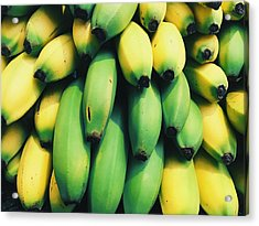 Bananas Acrylic Print by Happy Home Artistry