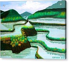 Banaue Acrylic Print