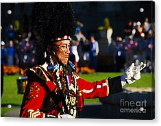 Band Leader Acrylic Print by David Lee Thompson