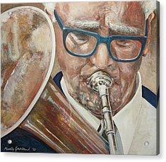 Band Man Acrylic Print by Marty Garland