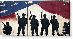 Band Of Brothers - Operation Iraqi Freedom Acrylic Print by Unknown