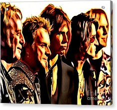 Band Who Acrylic Print