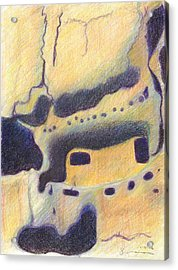Bandelier I Acrylic Print by Harriet Emerson