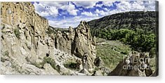 Bandelier National Monument  Acrylic Print