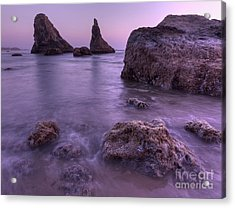 Bandon In Oregon Acrylic Print by Masako Metz