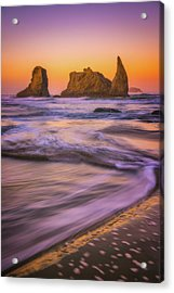 Acrylic Print featuring the photograph Bandon's Breath by Darren White