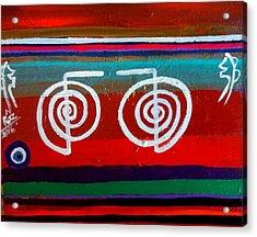 Bands Of Healing Two Cho Ku Rei's Acrylic Print by Rizwana Mundewadi