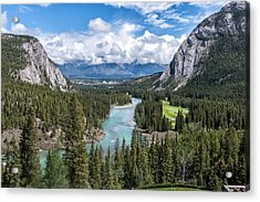 Banff - Golf Course Acrylic Print