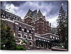 Banff Springs Hotel Acrylic Print