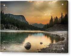 Banff Sunrise Acrylic Print