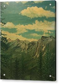 Banff Acrylic Print by Terry Frederick