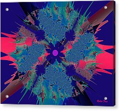 Bang Acrylic Print by Robin Foss