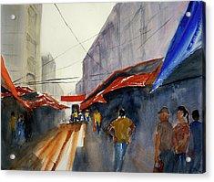 Bangkok Street Market2 Acrylic Print