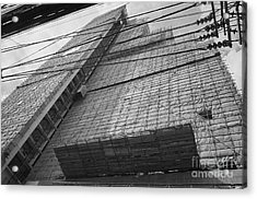 Acrylic Print featuring the photograph Bangkok Under Construction 2 by Dean Harte