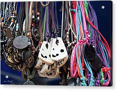 Acrylic Print featuring the photograph Bangles And Beads by Michael Flood