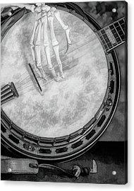Banjo Addiction Acrylic Print
