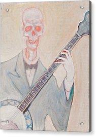 Banjo Bones Acrylic Print