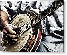 Banjoed Acrylic Print by Tilly Williams