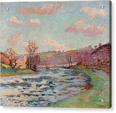 Banks Of The Creuse Acrylic Print by Jean Baptiste Armand Guillaumin