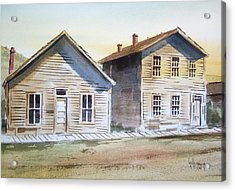Bannack Ghost Town Montana Acrylic Print by Kevin Heaney