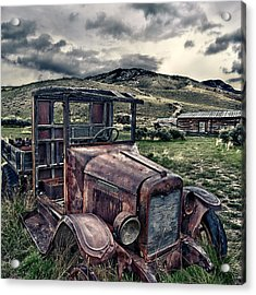 Bannack International - Square Acrylic Print by Renee Sullivan