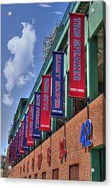 Banners Of Glory - Fenway Park - Boston Acrylic Print