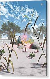 Baobabs Acrylic Print