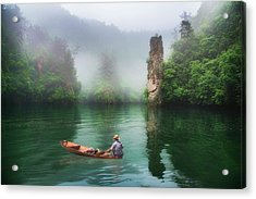 Acrylic Print featuring the photograph Baofeng by Wade Aiken