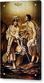 Baptism Of Christ Acrylic Print
