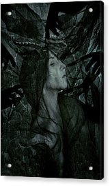 Baptism Of The Black Flame Acrylic Print