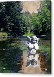 Acrylic Print featuring the photograph Baptism by Tom Romeo