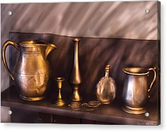 Bar - Ready For A Drink Acrylic Print by Mike Savad
