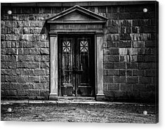Bar Across The Door Acrylic Print by Bob Orsillo