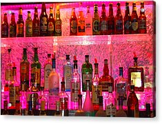 Bar Bubbles In New Orleans Acrylic Print