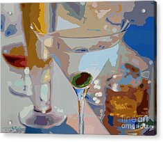 Bar Drinks Acrylic Print