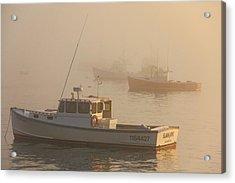 Bar Harbor Fleet Acrylic Print