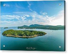 Bar Island, Bar Harbor  Acrylic Print