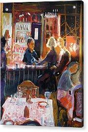 Bar Talk Acrylic Print