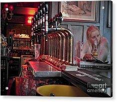 Bar Taps In Kilkenny Acrylic Print