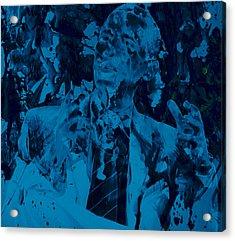Barack Obama 4a Acrylic Print by Brian Reaves