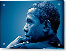 Barack Obama At White House 4 Acrylic Print
