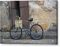 Baracoa Bicycle Acrylic Print