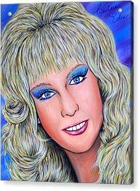 Barbara Acrylic Print by Joseph Lawrence Vasile